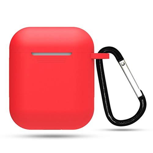 MachinYesell Protecteur d'écouteurs sans Fil à Boucle JTX Anti-Perte Accessoires résistants à l'usure Durablement conçu (Couleur: Rouge)