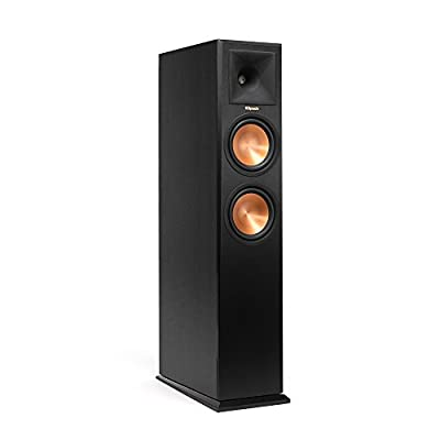 "Klipsch RP-260F 125W Black loudspeaker - loudspeakers (Speaker set unit, Tabletop/bookshelf, 2.54 cm (1""), 16.5 cm (6.5""), 125 W, 500 W) occasione - Polaris Audio Hi Fi"