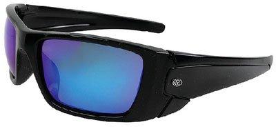 Yachter 's Choice 505-43203Cubera Sonnenbrille, polarisiert, Linse Spiegel Blau