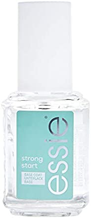 essie Strong Start, Nail Polish Base Coat, Clear, 13.5 ml