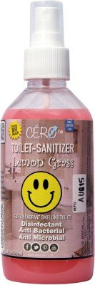 Cero Antibacterial/Disinfectant Lemon Grass Perfumed Toilet Sanitizer Citrus Bathroom Floor Cleaner(200 ml)