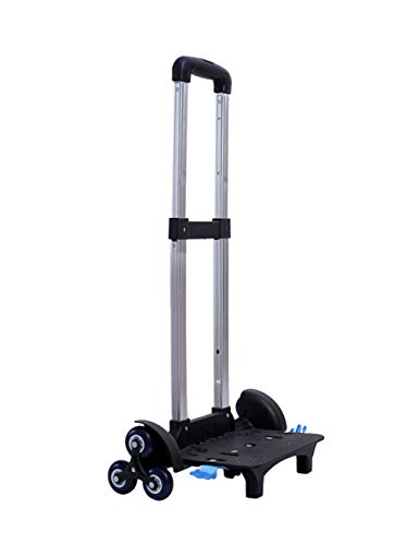 Kids Backpack 6 Wheeled Trolley Folding Truck Storage Cart for Children Kids School Bags,Luggage Travel Zhhlaixing -