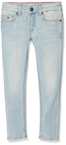 Tommy Hilfiger Mädchen Nora RR Skinny AVLBST Jeans, Blau (Avenue Light Blue Stretch 911), 98 (Herstellergröße: 3) - Avenue Stretch-jeans