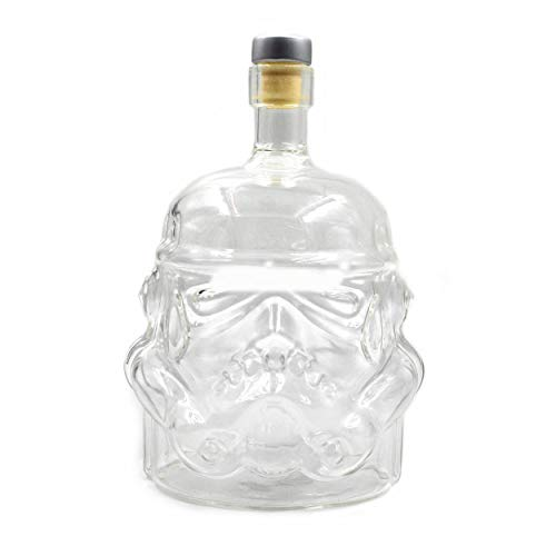 Lorenlli Transparent Creative Whiskey Flask Decanter Stormtrooper Glass Bottle Wine Decanters Glass Cup