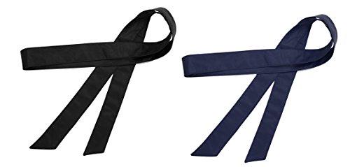 farben bei obi TY belt Damen Mädchen Obi PU Leder Gürtel Einfarbig Taillenband 70 Inch/172cm (schwarz Marineblau)