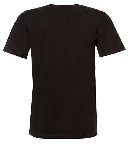 Unit T-Shirt Craft Schwarz Schwarz