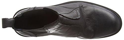 FLY London Herren Helt814fly Chelsea Boots Schwarz (Black 000)