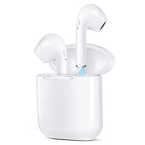 Auricolari wireless per Samsung S8 S8+ S9 S9+ S10E S10 S10+ A30 A50 A10 A20 A40 A70 A60 A80 con custodia di ricarica