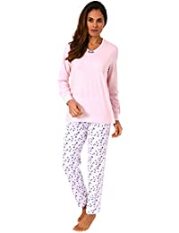 2018674869d33e Normann Copenhagen Wunderschöner Damen Pyjama Langarm - auch in Übergrössen  bis 60/62-271