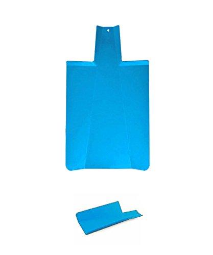 Planche à découper pliable de cuisine léger et pratique–kamiustore azzurro trasparente