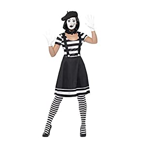 Smiffys Lady Mime Artist Costume
