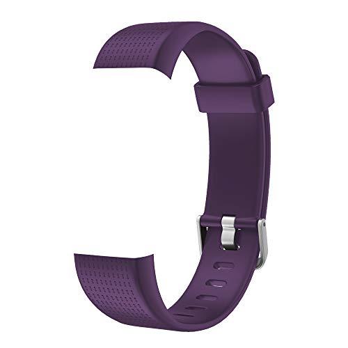 Willful Ersatz Armband Fitness Armband mit Pulsmesser (Lila)