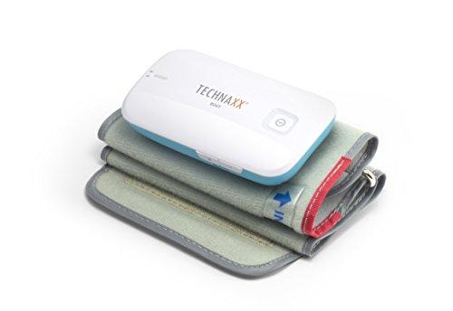 Technaxx Blutdruckmessgerät für den Oberarm, mit Bluetoothverbindung & Sprachansage