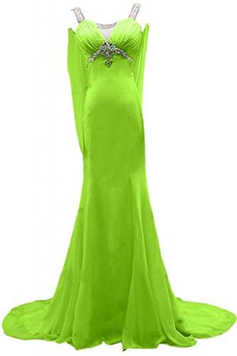 Sunvary romantico scollo Sweetheart vestito da donna, per abiti da sera, Gowns Light Green