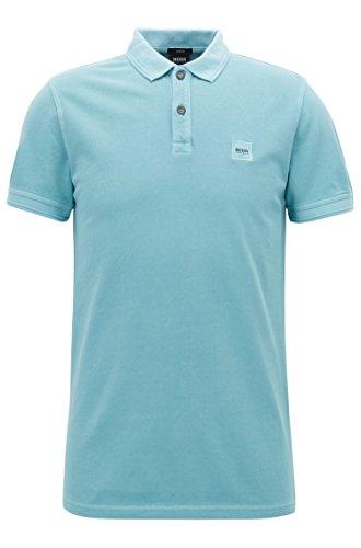 BOSS Casual Herren Poloshirt Prime Blau (Turquoise/Aqua 442)