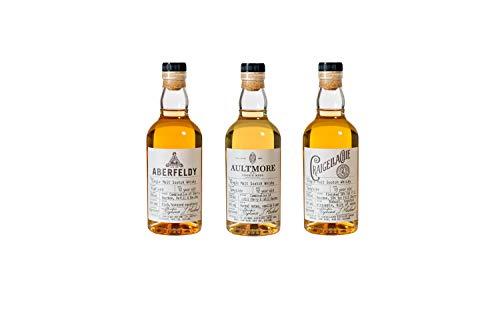 Das Single Malt Whisky Collection Discovery Tasting Set by John Dewar & Sons, 3 x 0,2l