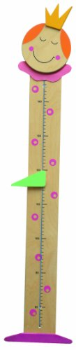 Niermann-Standby 905 - Messlatte Prinzessin - für kleine Prinzessinen die zusehend wachsen. Messbereich bis 140 cm