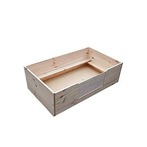 100x100cm Wurfbox Natur Welpenkiste Züchterbox Hunde Katzen Zucht