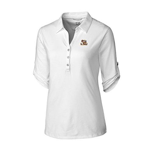 Cutter & Buck 3/4Sleeve Thrive Polo, Damen, 3/4 Sleeve Thrive Polo, weiß, Medium