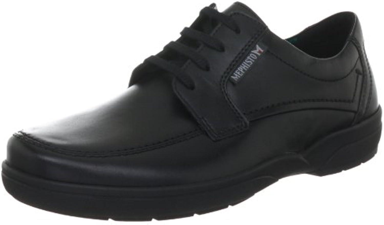 Mephisto AGAZIO CHARLES 3800 BLACK P5104725 - Zapatos casual de cuero para hombre -