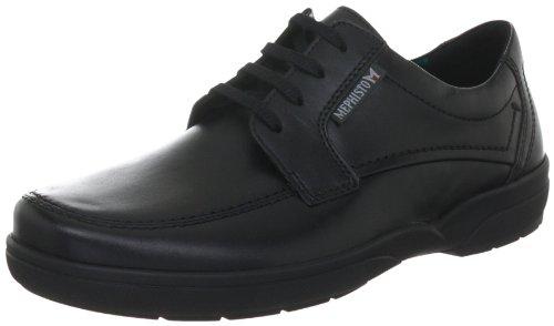 Mephisto Schuhe (Mephisto AGAZIO CHARLES 3800 Herren Derby Schnürhalbschuhe, Schwarz (Black), 45.5)