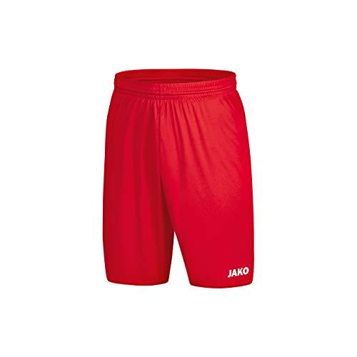 JAKO Kinder Manchester 2.0 Sporthose, rot, 104