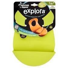 Tommee Tippee Explora Roll N Go Bib (Green)