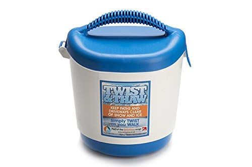 """MPL Gardening, spargitore di sale/sabbia """"Twist and Thaw"""" per ghiaccio e neve, colore bianco e blu, modello MPL50072/W/P (etichetta in lingua italiana non garantita)"""
