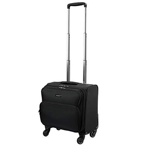 16 Rolling Tote (Rolling Laptop Case, Mobile Aktentasche Compact Overnighter Travel Totes Gepäckwagen, wasserdicht, Abriebfest, Kratzfest, 2 Farben)