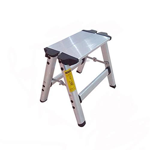 KJZ Escalera de dos pasos, taburete plegable del pie del taburete Cocina multifuncional de la escala de la sala de estar Tamaño 34 * 27 * 30CM (Tamaño : 34 * 27 * 30CM)