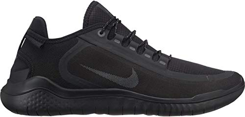 Nike Herren Free Run 2018 Shield Laufschuhe, Schwarz (Black Anthracite 002), 42.5 EU