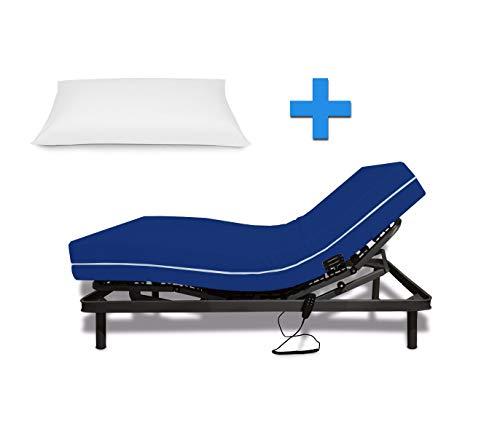 Duermete Cama Articulada Eléctrica Reforzada + Colchón