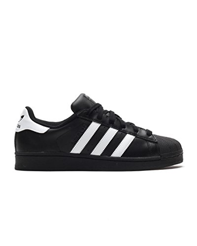 Adidas Superstar, Sneakers Basses homme, Noir (Core Black/Ftwr White/Core Black), 45 1/3  EU