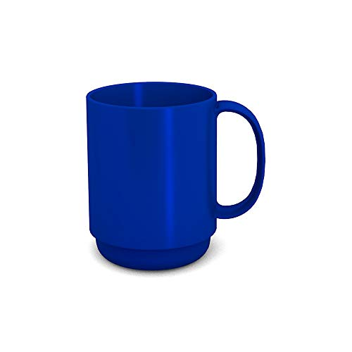 enkel 300 ml blau (Modell 510) / Mehrweg-Becher Kunststoff, Kaffeebecher ()