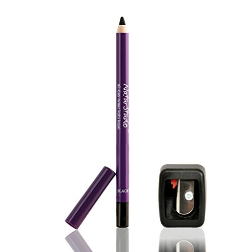 Plum Bundle of Natur Studio All Day Wear Kohl Kajal, 1.2g with Sharpener