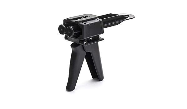 Techniq Kunststoff Reparaturpistole Spender Für 50 Ml Kunststoffreparatur Klebepatronen Quikgun Auto