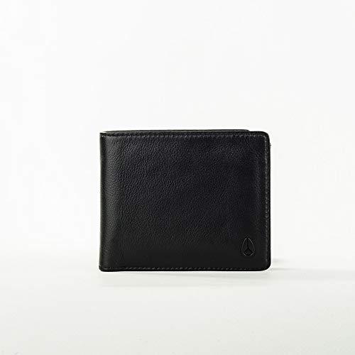 Bill Wallet (Nixon Satellite Big Bill Bi-Fold ID Coin Wallet Münzbörse, All Schwarz)