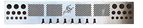Kettes - Accesorio para Barbacoa de Acero Inoxidable, Soporte para el Brazo, Parrilla de Gas, Napoleon...