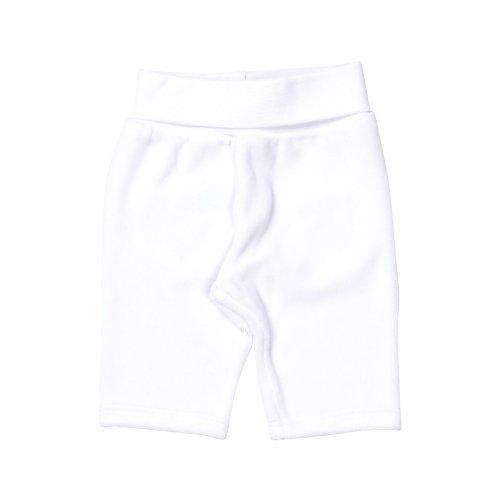 Steiff Unisex - Baby, Jogginghose, 0002854 Jogging Trousers, GR. Neugeboren (Herstellergröße:50), Weiß (bright White)
