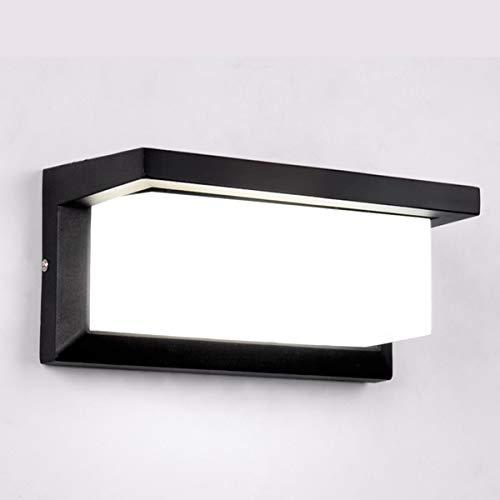 HAOFU 10W LED Apliques de Pared,Lamparas de Pared,impermeable IP65, blanco Frío 6000K,...
