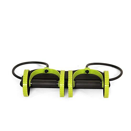 Bauch Rad nach Hause Bauchmuskel Rad Fitness Rad Rolle stumm Spannseil Multifunktions Abnehmen Bauchgerät