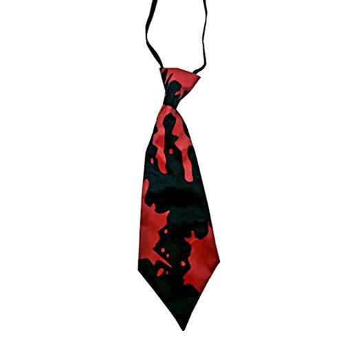 TENDYCOCO Blutige Krawatte Performance Kostüm Requisiten Halloween Party Dress Up für Erwachsene