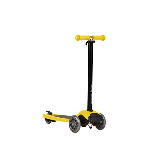 Mountain Buggy Freerider Scooter schwarz/gelb