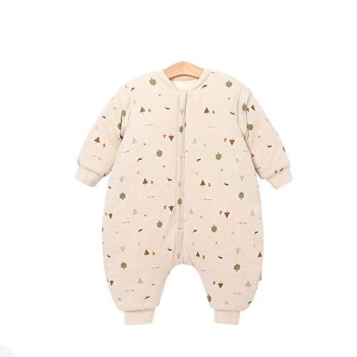 Huacang i neonati sono adatti per il pigiama, prevenire il freddo in primavera trapunta anti-kick con specifiche diverse grande spazio senza ritegno (colore : rosa, size : m)