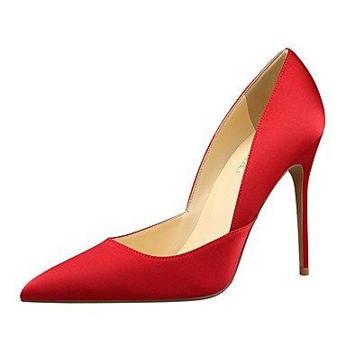 Cuir Séparation Partie Talon SHOESHAOGE En Tenue Nouveauté Red Femmes Chaussures Printemps Amp; De Champagne Heels Pour Pour Été Soirée De Soie Joint Chaussures qvarvZwI