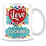 Tazza di caffè, Love you you donut How Much I Love You personalizzare ceramica Coffee Cup, 311,8gram, bianco