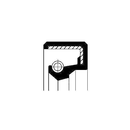Corteco 12014077B Bague d'étanchéité, boîte de vitesse manuel