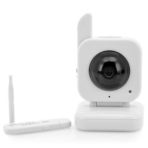 Pggpo, USB, kabellos, Babyphone, 0,3 MP Kamera, 1 / 4 Zoll CMOS Sensor, 5 Meter Nachtsichtreichweite (H 153) -