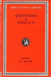 Institutio Oratoria Quintilian (Loeb Classical Library, Band 125)