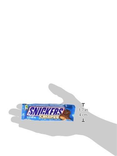 Snickers Crisper Crispy Milk Chocolates with Peanuts Box Of 18 x 40g, 720g
